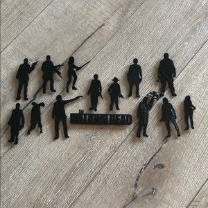 The Walking Dead magnetic character set